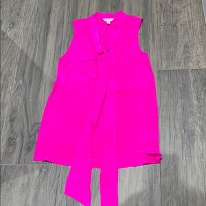 Lilly Pulitzer silk sleeveless top!